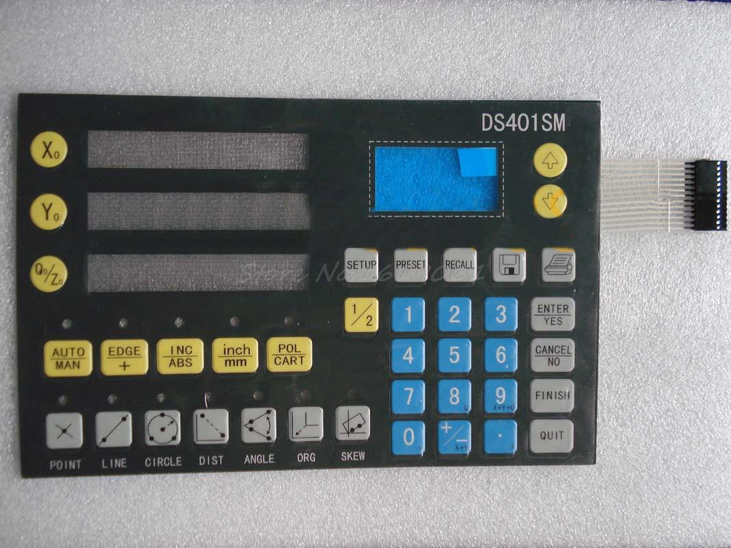 ФОТО New Membrane keypad Film For DS401SM JT12A