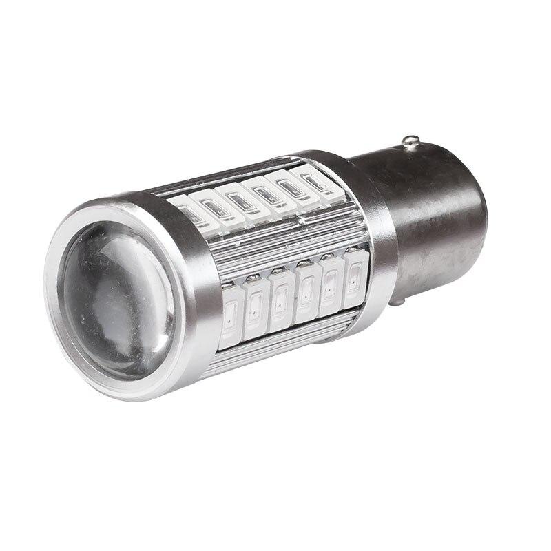High Quality 1157 P21/5W BAY15D Super Bright 33 SMD 5630 5730 LED Auto Brake Light Fog Lamp Car Daytime Running Light DRL bulbs