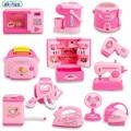 Nueva llegada 24 tipos niños play house simulación mini aparatos de cocina en miniatura de alimentos pequeños muebles kit educación toys