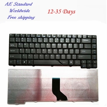 US Black 100% New English laptop keyboard For Acer 4710 4710Z 4712 4712G 4290 4720 4720G new membrane keyboard for beijer e200 repair new 100