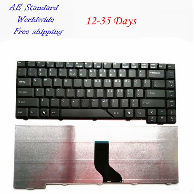 US Black New English Laptop Keyboard For Acer 4710 4710Z 4712 4712G 4290 4720 4720G