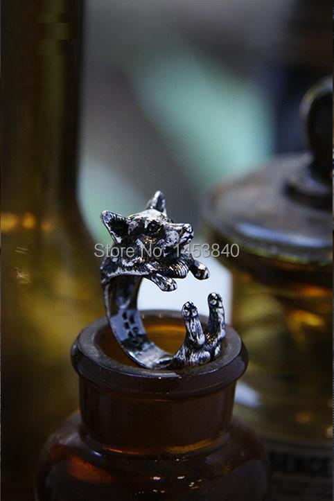 Hot Sale Corgi Ring–3Colors Free Collocation Wholesale