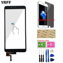 "Mobile Touch Screen Digitizer Panel For Xiaomi Redmi 6A Touch Screen 5.45"" Front Glass Sensor Touchpad Panel Repair Parts + Gift"