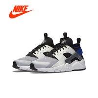 Оригинальный Новое поступление Официальный Nike Air Huarache Run Ultra мужские все черные кроссовки 819685 002
