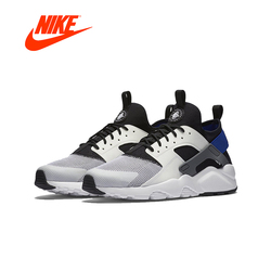 Original New Arrival Official Nike Air Huarache Run Ultra Men's All Black Running Shoes Sneakers 819685-002