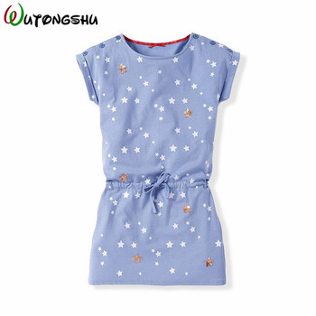 цена на Casual Kids Dresses For Girls Summer Cotton Girls Dress For 1-6Y Children Girls Spring Clothing Toddler Girl Party Dresses