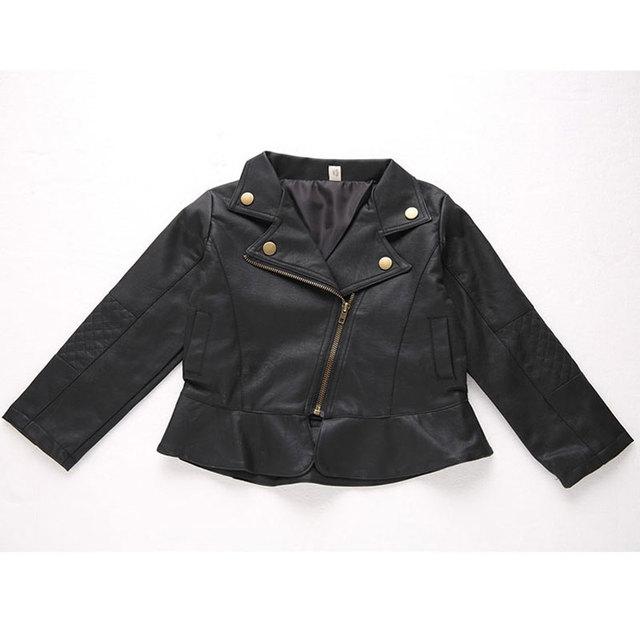 11ca86469cf6 PU Leather Jackets for Newborn Baby Girl Boy Clothing Fashion ...