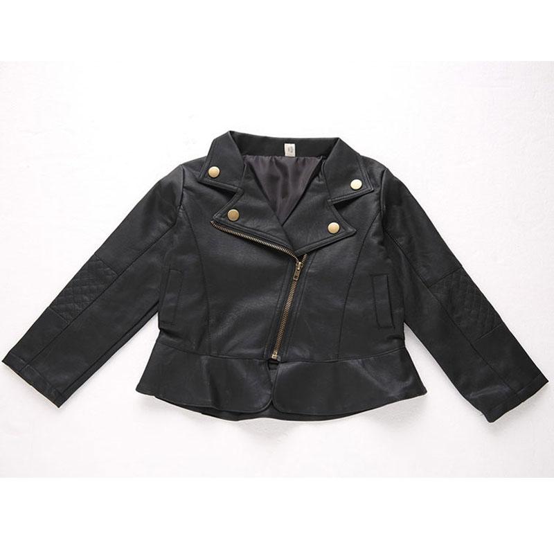 Mädchen Kleidung Obebekleidung & Mäntel Mode Kinder Kleidung Frühling Herbst Winter Mädchen Jungen Kinder Baby Leder Outwear Mantel Kurze Jacke Kleidung 2017 Neue Ankunft