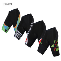 HOT! TELEYI Team Men's Cycling clothing Ropa Ciclismo Cycling Wear Shorts Bike shorts bicycle Tights Padded Gel XS-4XL