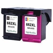Картриджи для HP 662 XL 662XL HP662 HP662XL Deskjet преимущество 1015 1515 2515 2545 2645 3515 3545 4515 4645 струйный принтер