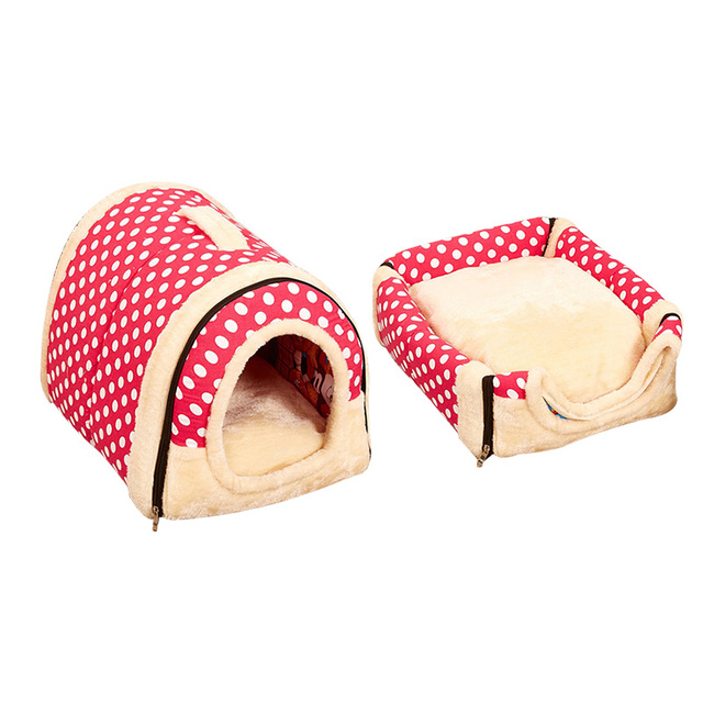 Portatile Pet Casa Del Cane Del Gatto Dell'animale Domestico Pieghevole Forniture di Viaggio Casa del Panno Della Peluche Canile Per Universale Pet Zerbino Base Del Cane del Gatto divano 3 Size