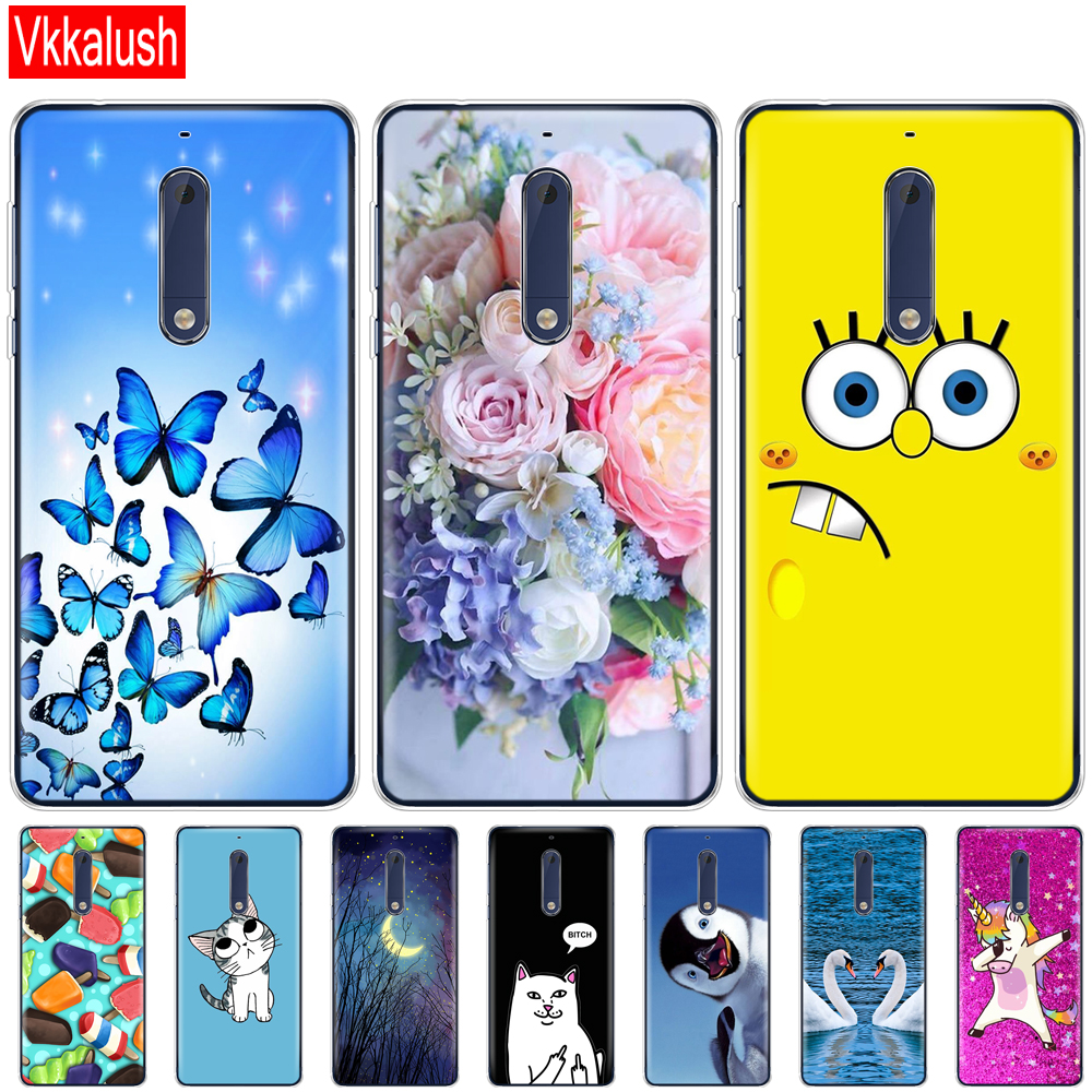 Silicon <font><b>case</b></font> for <font><b>Nokia</b></font> 1 2 2.1 <font><b>3</b></font> <font><b>3</b></font>.1 5 5.1 plus 2018 soft tpu <font><b>dog</b></font> back cover shockproof Coque bumper funny image