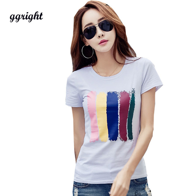 Poleras mujer blanco graphic Camisetas Tees mujeres 2018 casual 3D camiseta  mujer manga corta Camiseta mujer 04e9940d9a4