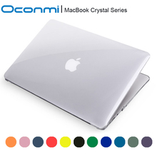 Transparent crystal Case For Apple macbook Air Pro with Retina 11 12 13 15 inch laptop bag For Macbook 11.6 13.3 15.4 case clear