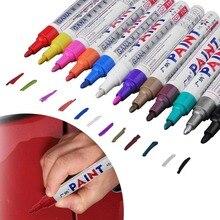 Красочные водонепроницаемые ручки автомобильных шин протектора CD металлические перманентные маркер-краски граффити фломастер на масляной основе Marcador Caneta канцелярские принадлежности