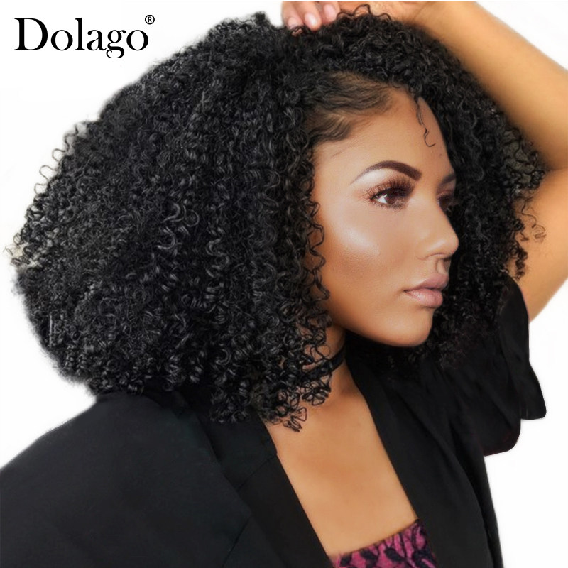 Online Shop 4b 4c Mongolian Afro Kinky Curly Clip In Human Hair