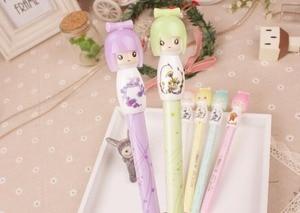 Image 3 - Free ship!1lot=30pc!Cute Japanese doll gel ink pen/ creative stationery / creative student cartoon pen