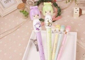 Image 3 - Freies schiff! 1 los = 30 stück! Cute Japanese puppe gel ink pen/kreatives briefpapier/kreative student cartoon stift