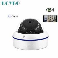 4mp Ip Camera 2k 4 720P Fisheye Wide Angle 1440P 1080p HD Mini Dome Outdoor Panorama