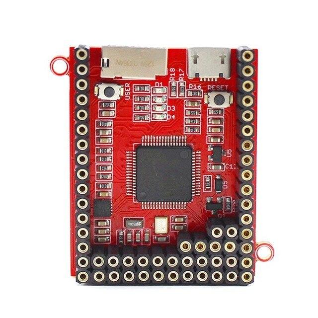 Elecrow Python Bordo di Centro Crow Pyboard Bordo di Sviluppo del Microcontroller MicroPython STM32F405RG per Pyboard Modulo di Apprendimento