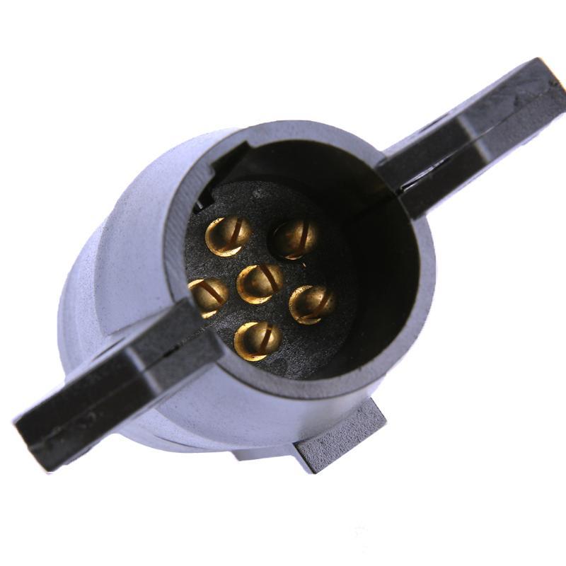 7 Way Runde zu 6 Pin Anhänger Stecker Licht Adapter RV stecker 12 V ...