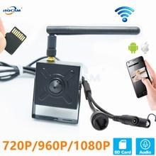 HQCAM 5.0MP 720P 960P 1080P Audio WIFI kamera IP kryty bezprzewodowy nadzór kamera ochrony domu Onvif gniazdo karty tf APP CAMHI