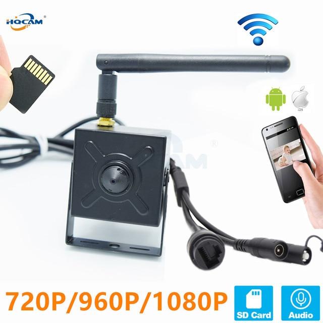 Hqcam 5.0mp 720 p 960 p 1080 p áudio wi fi ip câmera de vigilância sem fio indoor câmera de segurança em casa onvif tf slot para cartão app camhi