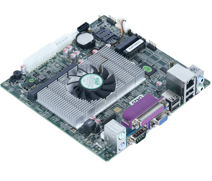 New Original Mini ITX Mainboard For Intel D525 CPU IPC SBC Embedded Motherboard with 2 COM