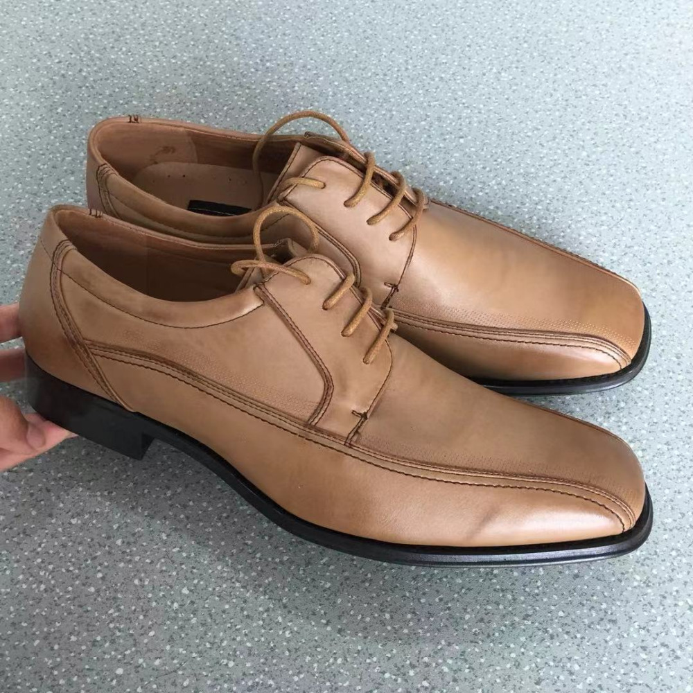 2019 New Fashion Wedding Dress Shoes Men Lace Up Party Shoes Man On Sale Size 40 43 44 in Formal Shoes from Shoes