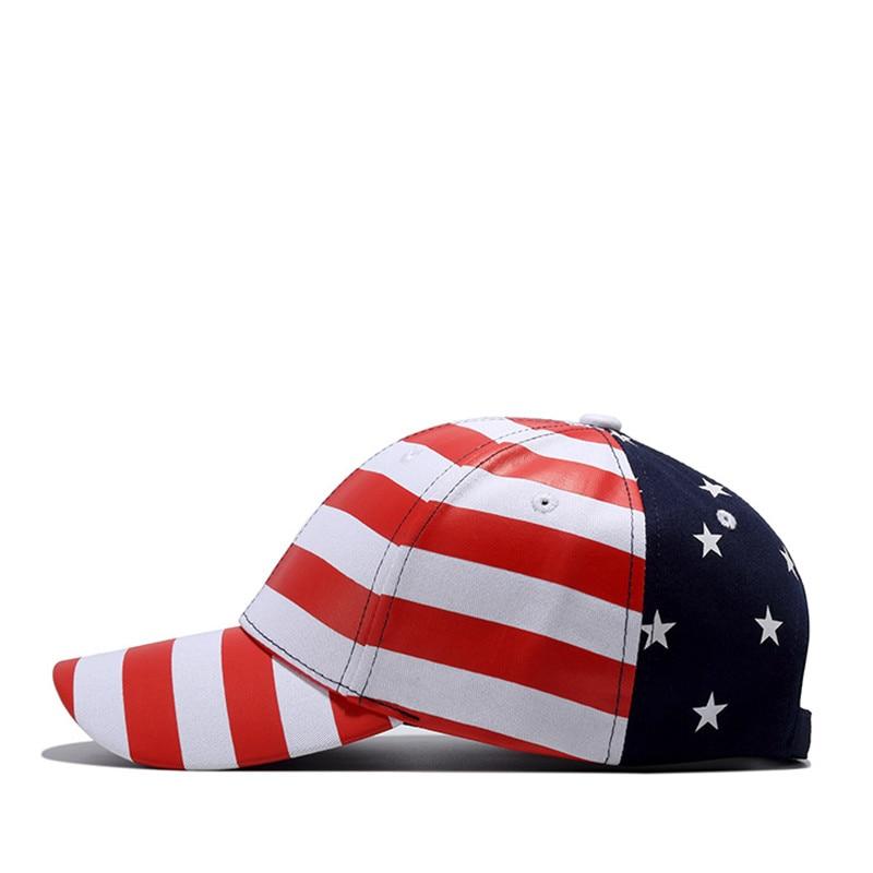 Wuke Brand Νέες ΗΠΑ Μπέιζμπολ Cap Αμερική - Αξεσουάρ ένδυσης - Φωτογραφία 2