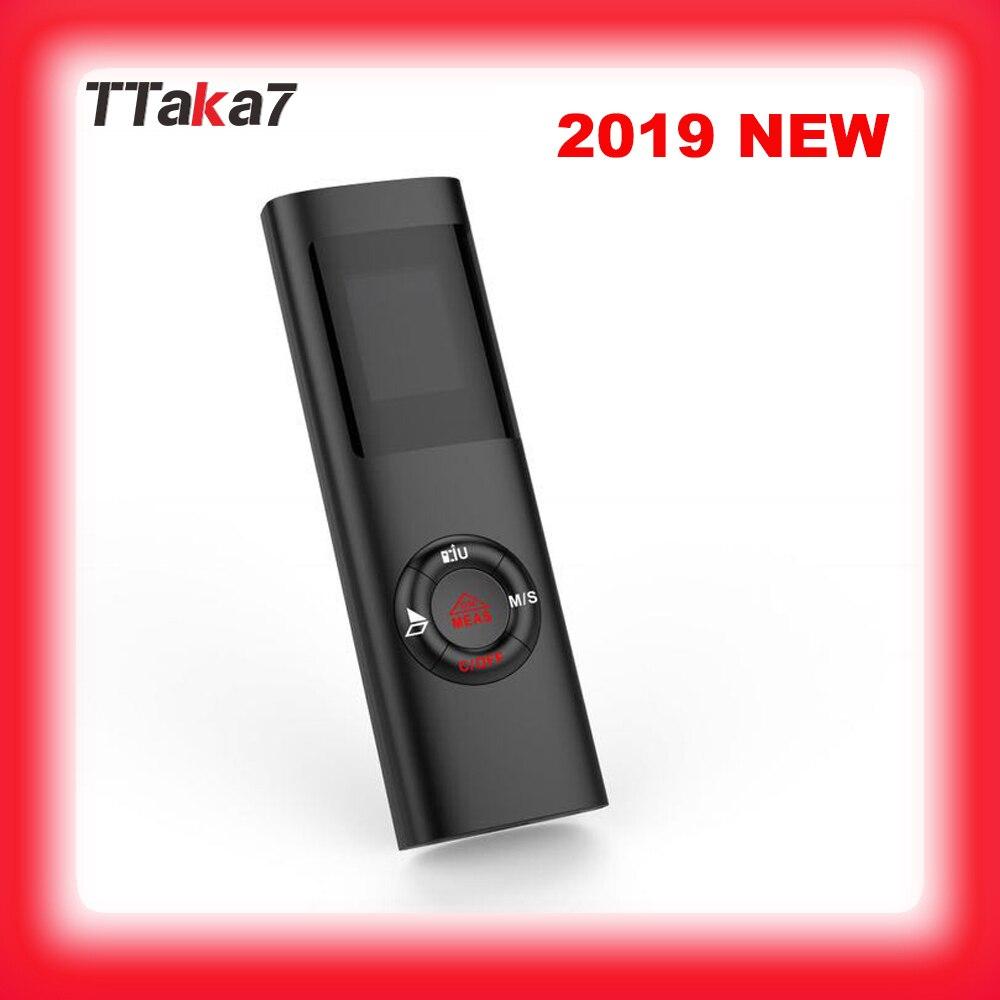 2019 nouvelle mise à niveau Mini télémètre Laser 40M télémètre Laser professionnel ruban Laser roulette mesure métro télémètre