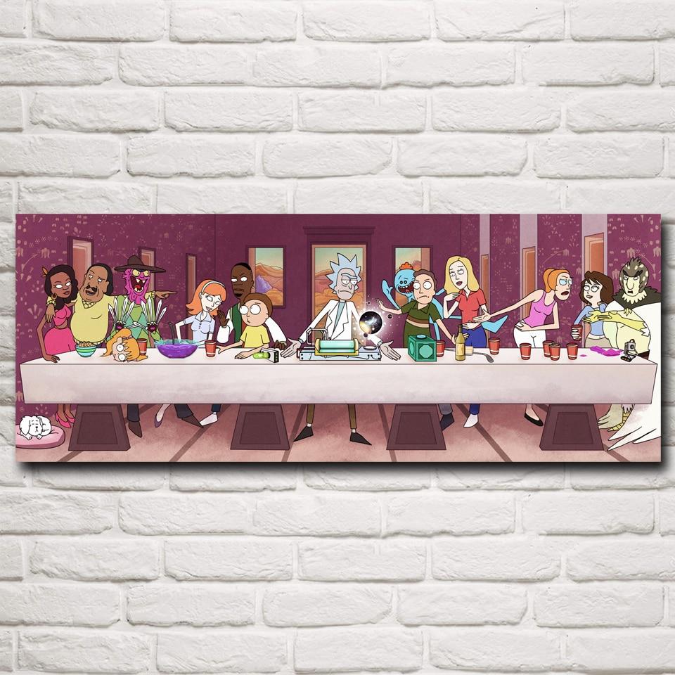 Rick and Morty Rick Sanchez Cartoon Animation Art