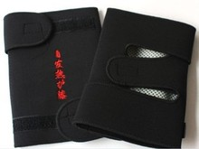 Free Shipping 2 pairs Tourmaline Self-heating Knee, Good Elastic, Warm Knee Care Diving Fabric