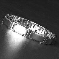 Heavy Steel Tungsten Steel Bracelet Men's Energy Health Jewelry