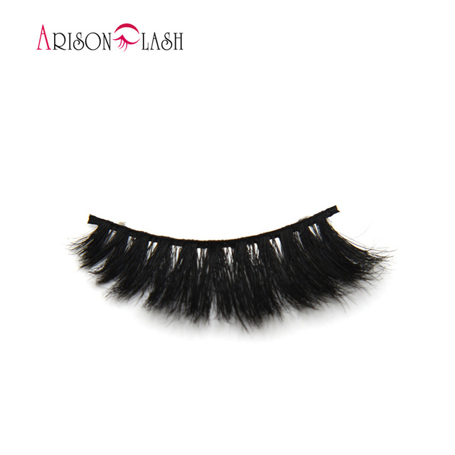 Full Strip Lashes Ariosn False Eyelashes Semi Permanent Lashes Extensions Horse Hair Hand Made Thick Make Up H805 Free Shipping