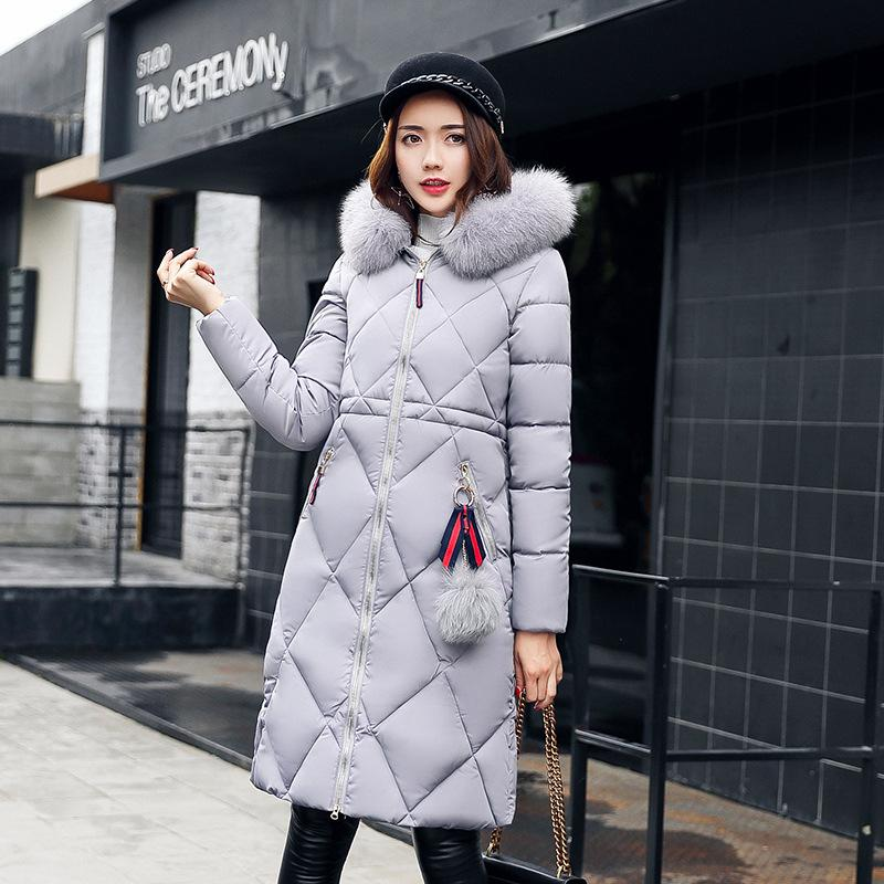 Women Coats 2017 Winter Fashion Jacket Long Coat Hooded Outwear Parkas Warm Thicken Long Female Casual Coats Plus Size
