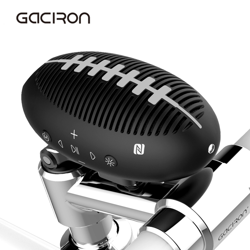 GACIRON Ciclismo Bluetooth Bicycle Speaker Mini Portable Floodlight Waterproof Wireless Bike Cycling Subwoofer 3D Stereo Music gaciron mini bluetooth speaker portable wireless cycling bike bicycle outdoor subwoofer sound 3d stereo music camp tent light