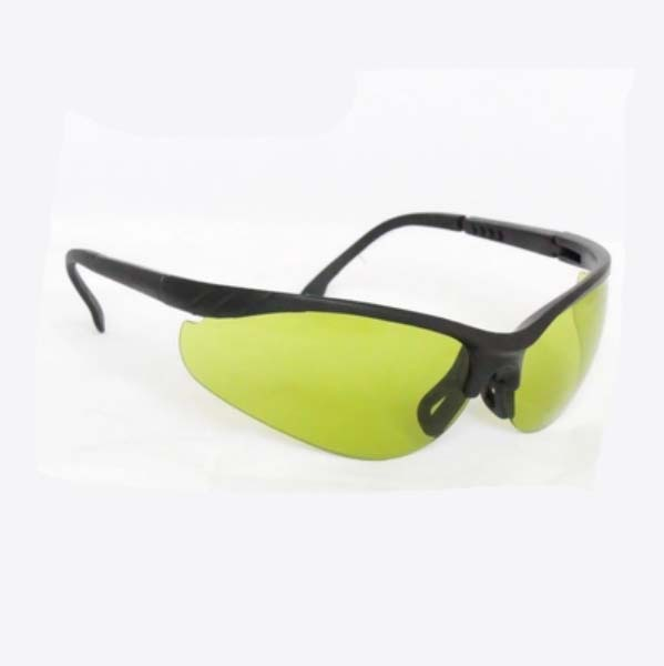 O.D 4 at 700nm-800nm  O.D 6 at 800-1100nm included diode laser 808nm 980nm and YAG 1064nm laser safety glasses 808nm 1064nm and 10600nm laser safety glasses high transmittance 65% o d 5 6