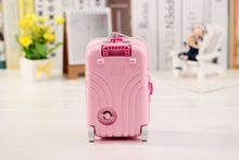 1PC New Trolley Case Music Box Jewelry Box Colorful Design Lovely Gift Beautiful with Mirror and
