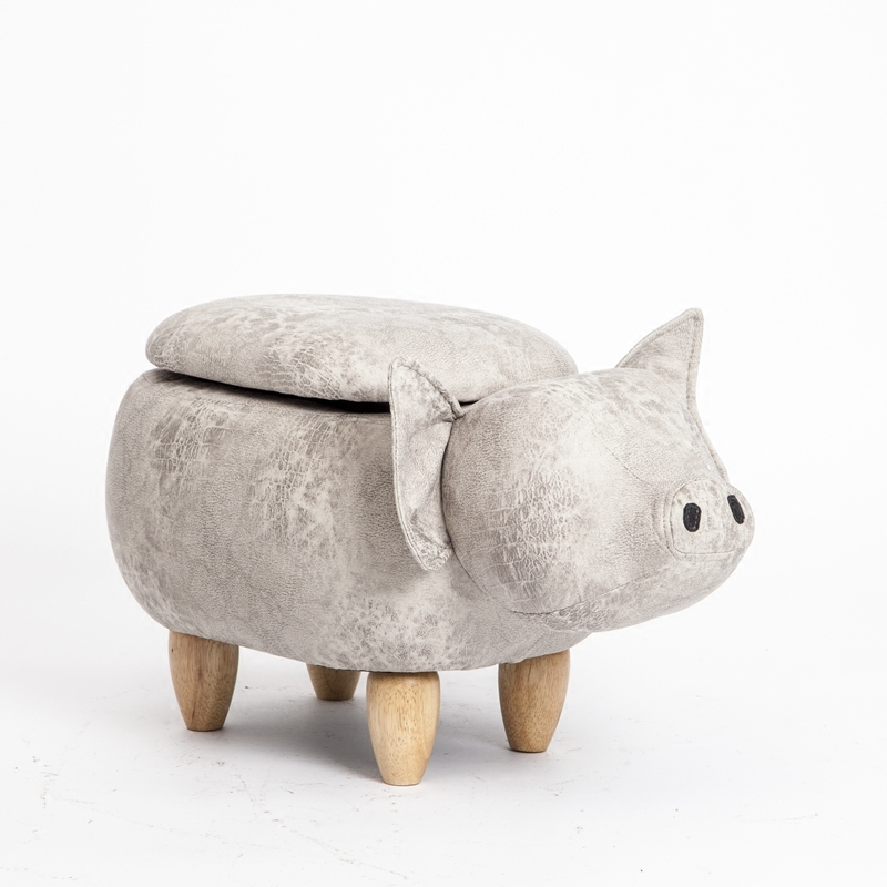 Kruk 2018 Promotion Wooden New Modern Taburetes Pouf Poire Chinese Porcelain Pig Stool Storage Shoes Clothing Store Small Sofa pouf poire storage stool shoes changing living room sofa foot chair cloth package wooden modern stools new arrival furniture