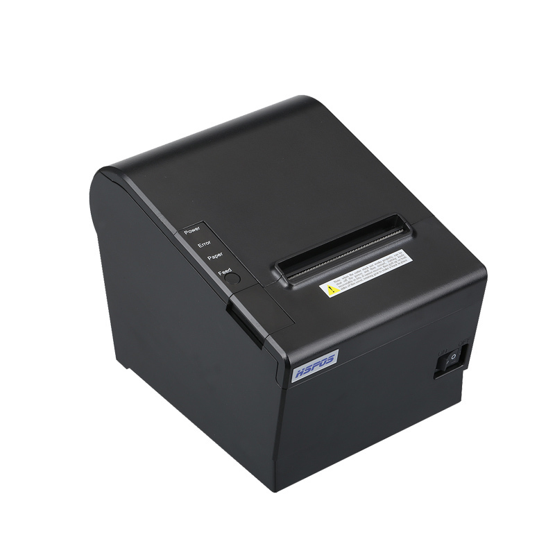 Auto cutter 80mm usb and lan port thermal receipt billing pos printer with high quality support cash drawer