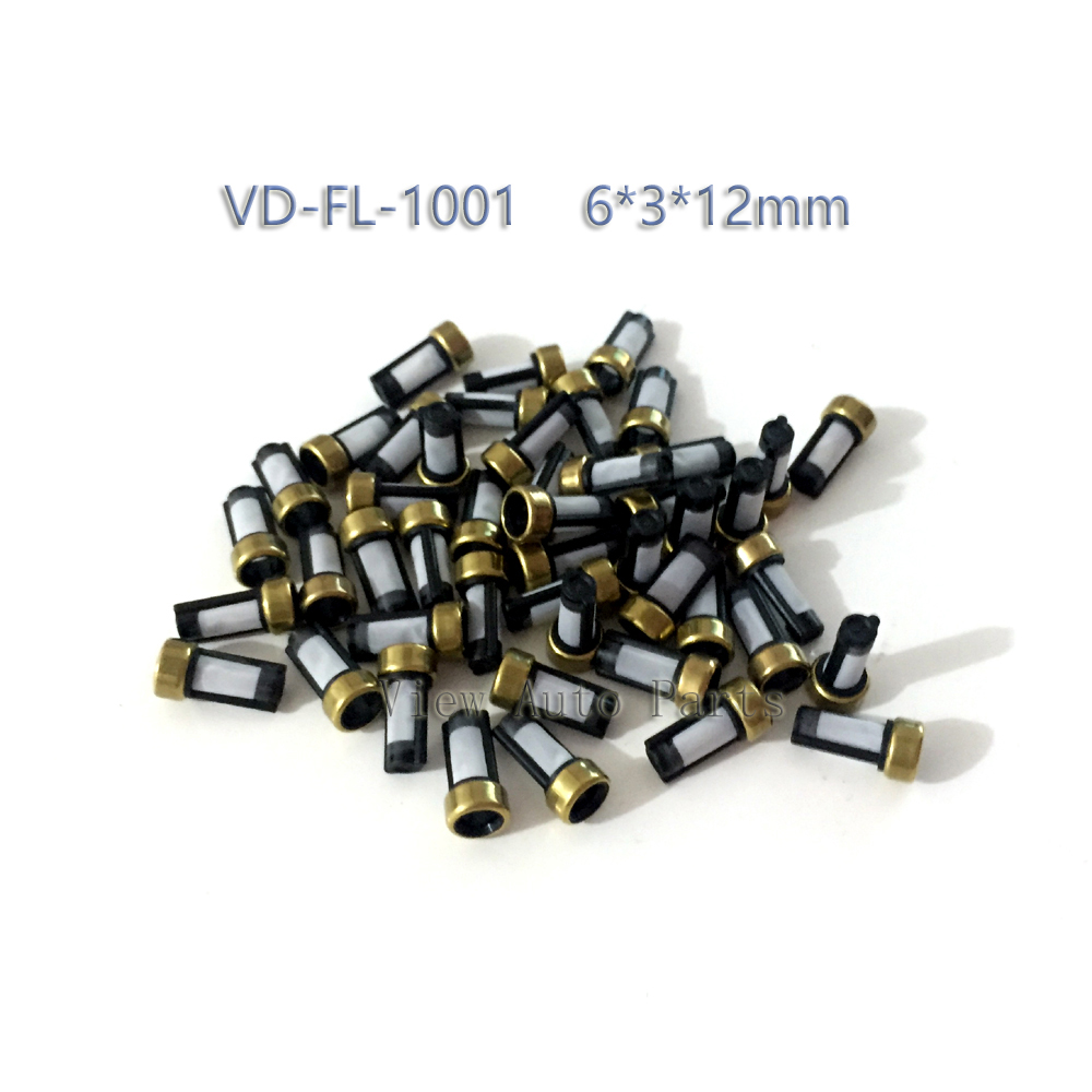 Free Shipping 500pcs Fuel Injector Micro Basket Filter Fit for ASNU03C Injector repair kits Size 6