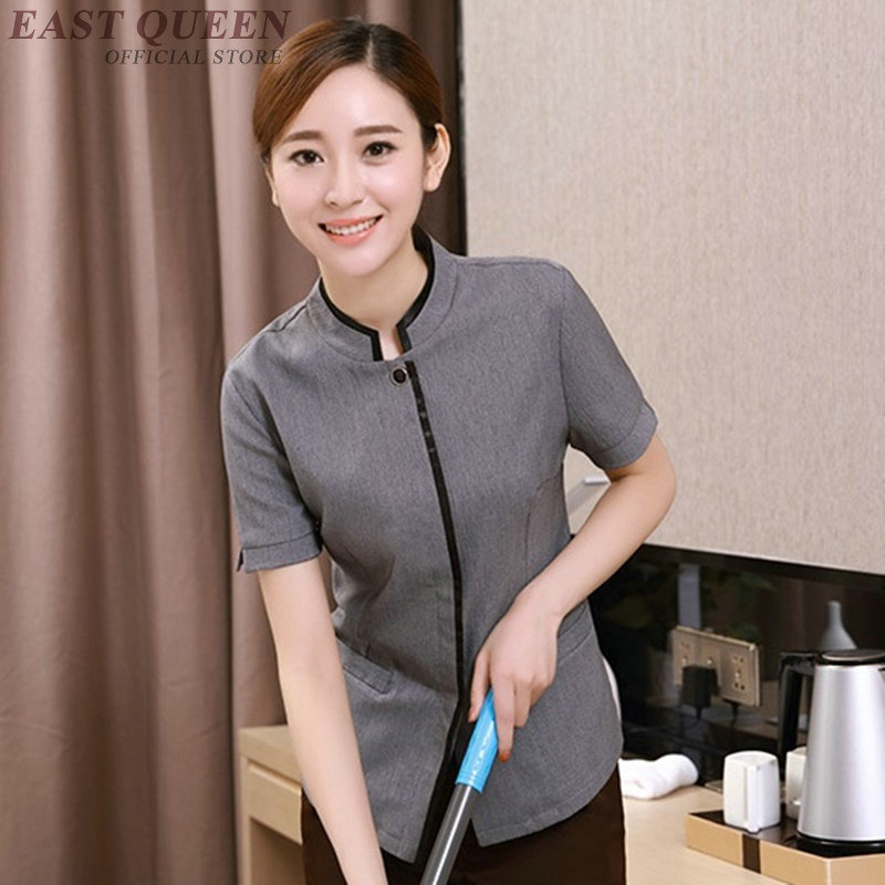 Housekeeping Uniforms Hotel Supplies Maid Hotel Cleaner Uniform Workwear Cleaning Service Uniform Waitress Clothing DD1109
