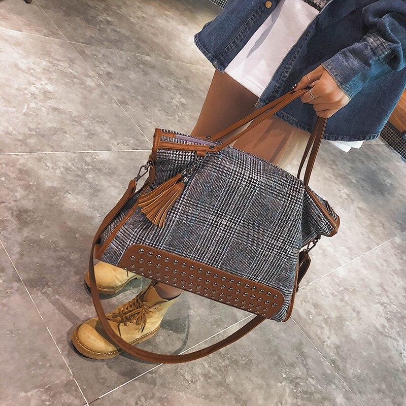 2018 Women Luggage Bags Womens Messenger Shoulder Bag Package Cloth Lady Travel Bags Business Bag Women Handbags Sac