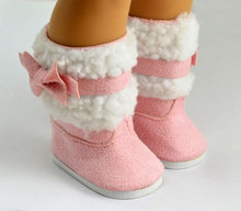 """Doll clothes,doll accessories, lovely Pink doll shoes for 18"""" inch american girl doll ,christmas gift free shpping"""