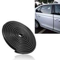 Youwinme Car U Shape Steel Door Edge Rubber Guard Seal Strip Sealing Trim Bumper Auto Stying Moulding For Kia BWM SUV Ford