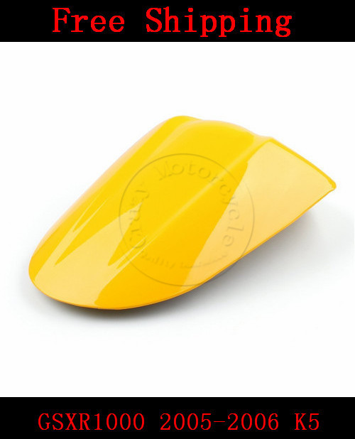 For Suzuki GSXR1000 2005-2006 K5 motorbike seat cover Brand New GSX R 1000 Motorcycle Yellow fairing rear sear cowl cover for suzuki gsxr1000 2005 2006 k5 motorbike seat cover brand new gsx r 1000 motorcycle carbon fairing rear sear cowl cover
