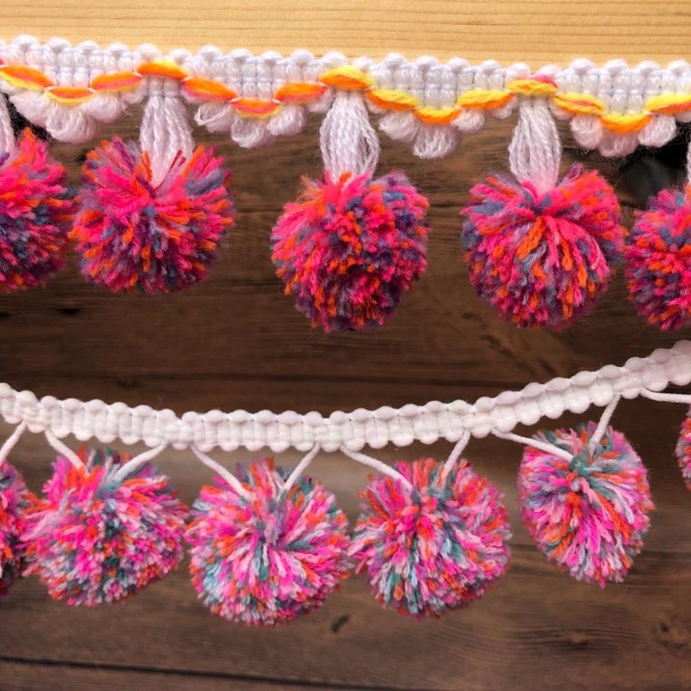Prettyia Lace Trim Crochet Colored Wedding DIY Crafts Sewing Bridal Ribbon