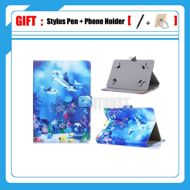 3in1 Universel 10.1 pouce Tablet Pu Étui En Cuir Pour Lenovo IdeaTab S2110 dock S2110 A7600 S6000 S6000L 10 Pouce Tablet couverture