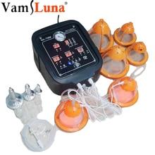 1 Set Vacuum Cups Body Massager Breast Enhancer Machine with Massage Nipple Enlargement Equipment